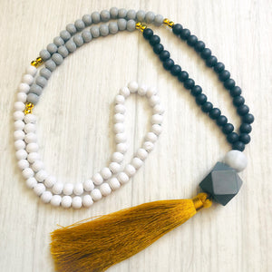 Tassel necklace - Moeraki