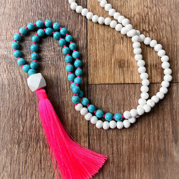 Tassel necklace - Hahei