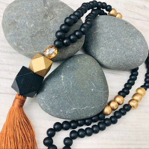 tassel necklace - Muriwai