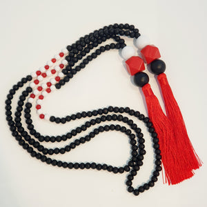 Tassel necklace - Rangitoto