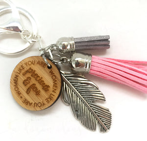 Tassel Keyring - Women like you