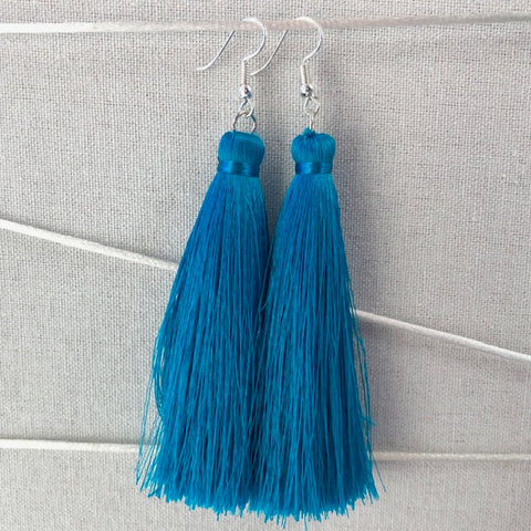 Tassel earrings - Lobelia