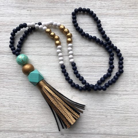 Tassel necklace - Totaranui