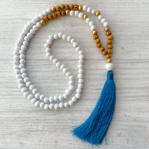 Tassel necklace - Matai Bay
