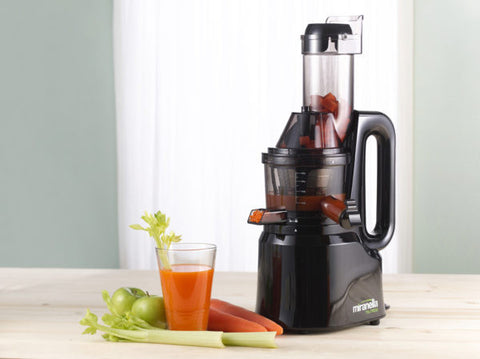 Miranella TRU PRESS Slow Juicer, Black