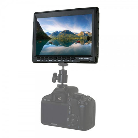 7inch HD IPS DSLR Monitor + Caonon LP-E6 Battery Plate (US PWR Supply)