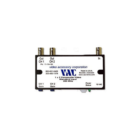 VAC 11-114-102 1x2 Composite Video DA
