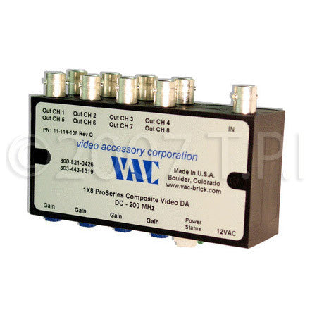 VAC 1x4 Composite Video DA with BNCs