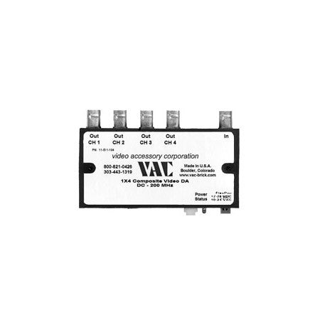 VAC 11-511-104 1x4 Composite Video Distribution Amplifier