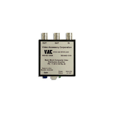 VAC 11-913-102 Mini-Brick Video Distribution Amp