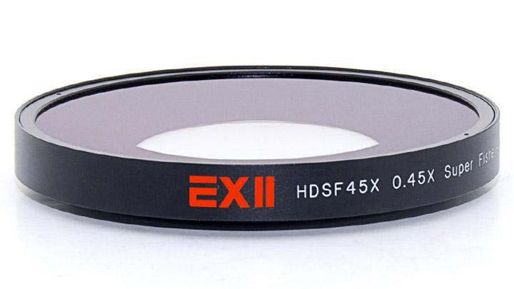 16x9 HDSF45X-62 EXII 0.45X Super Fisheye 62mm Thread Mount