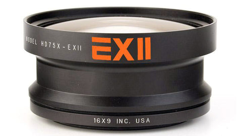 16x9 HDWC75X-72 EXII 0.75X Wide Converter - 72mm Thread Mount