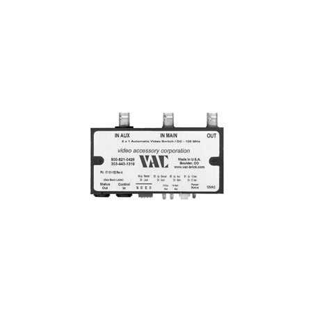 VAC Composite Video 2 x 1 Automatic Switch