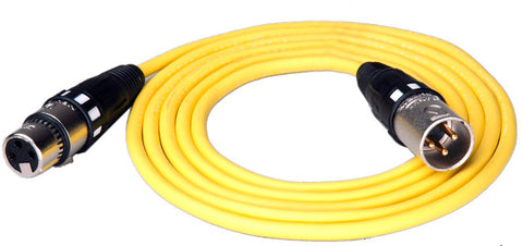 Belden High-Flex AES/EBU XLR Cable - 2 Foot Black