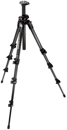 Manfrotto 190 CF 4 Section Tripod - Q90 w/Horizontal Center Column