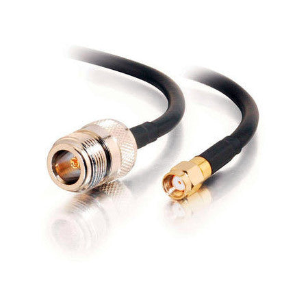 Wi-Fi 802.11 a/b/g LMR200 type RP-SMA Male to N-Type Female Cable 10FT