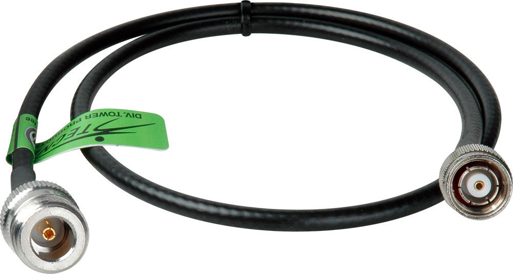 Wi-Fi 802.11 a/b/g LMR200 type RP-TNC Male to N-Type Female Cable 20FT