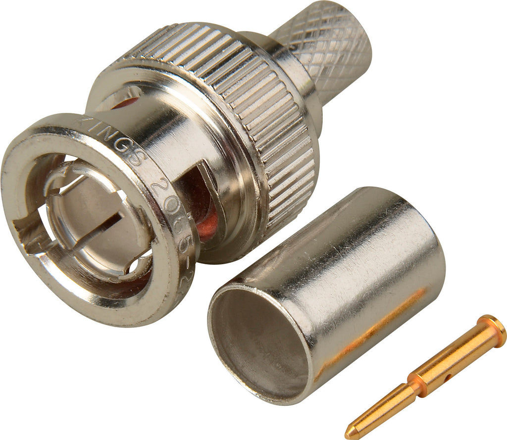 Kings 2065-22-9 75 Ohm BNC Connector for Belden 1694A