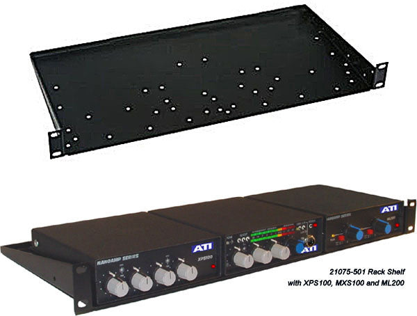 ATI Audio Rack Mount For ATI AV8 NanoAmp and MicroAmp