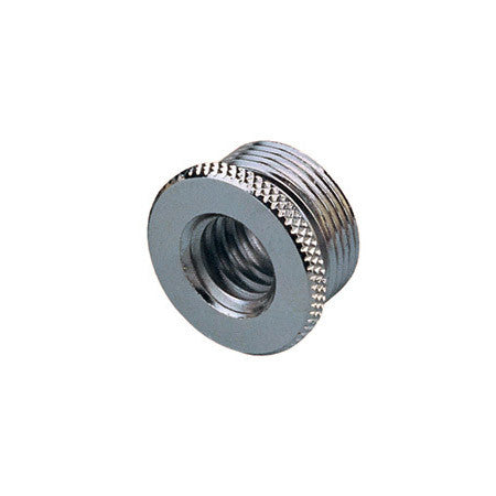 A high quality Image of 3/8-16 Female to 5/8-27 Male Euro to US Mic Thread Adapter w/Flange