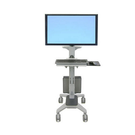 A high quality Image of Ergotron 24-189-055 Neo-Flex WideView WorkSpace Cart