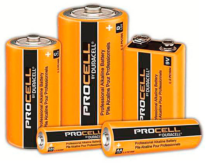 Duracell PC1500 PROCELL AA Batteries 4 Pack