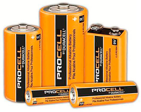 Duracell PC1300 PROCELL D Batteries 1 Dozen