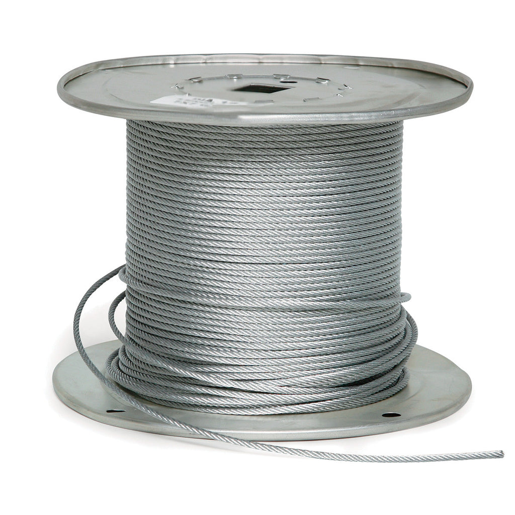 Fehr Brothers 2G9125-00250 1/8 Diameter x 250FT 7x19 Galvanized Aircraft Cable