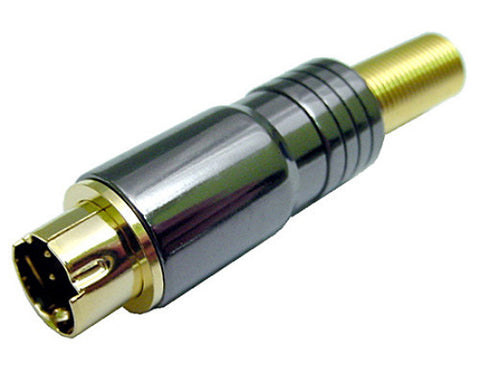 Calrad 30-505 Pro SVHS Connector for 5-7mm Cable