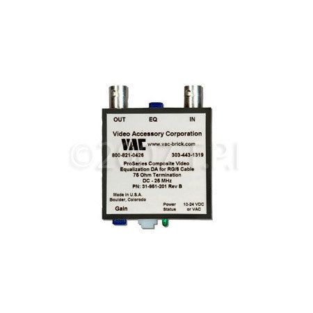VAC 31-951-201 Line Driver with Gain & Equalization RG59 Cable