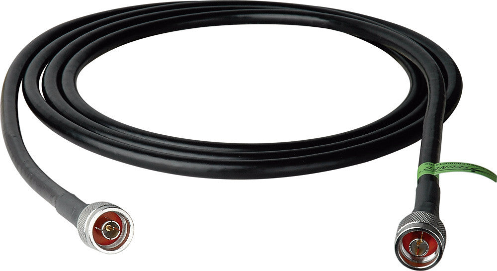 Wi-Fi 802.11 a/b/g Low Loss LMR400 Type N Male to N Male Cable 10FT