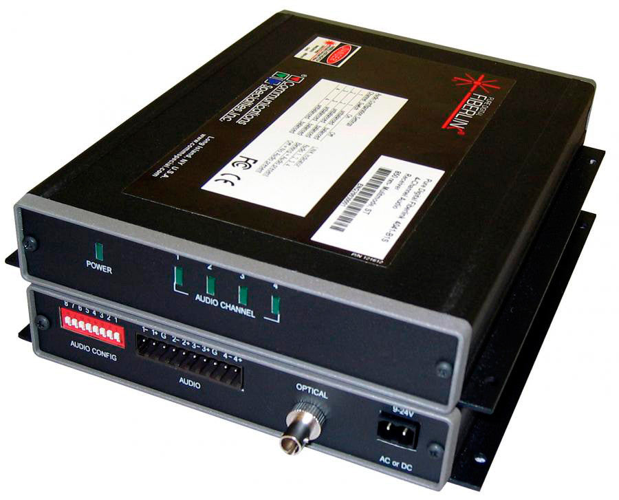 CSI 4040-B1S 850nm / MM / 1 fiber / ST / Box Transmitter