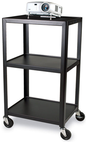 A high quality Image of Bretford 24W x 18D x 42H AV Cart with 3 Shelves