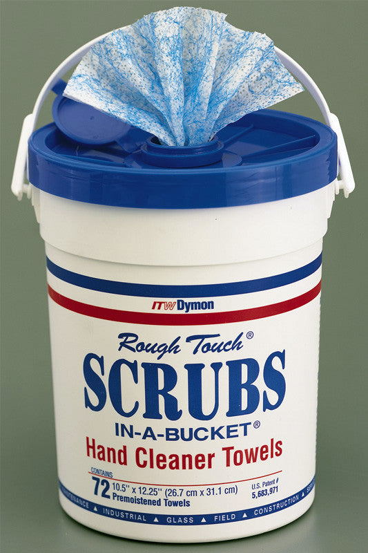 Chemtronics 42272 Scrubs in a Bucket Cleaner 72 Towel Pack