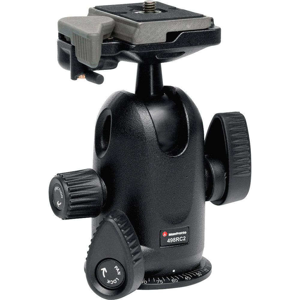 Manfrotto 498RC2 Midi Ball Head with RC2