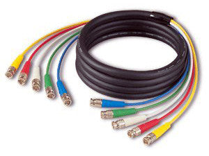 Canare 4VS03-03 75 Ohm 4-Channel BNC Video Snake 10FT