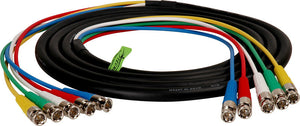 5-Channel BNC Video Snake Cable 50FT