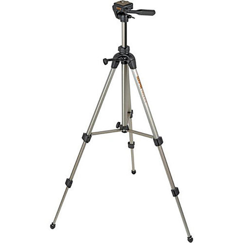 Sunpak Tripod with 3way Panhead Bubble level and QR