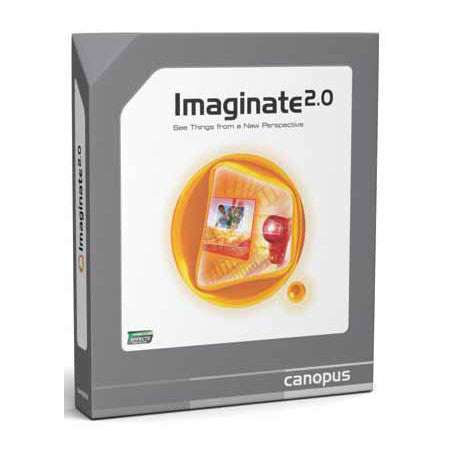 A high quality Image of Canopus Grass Valley Imaginate 2.0 Software for Windows