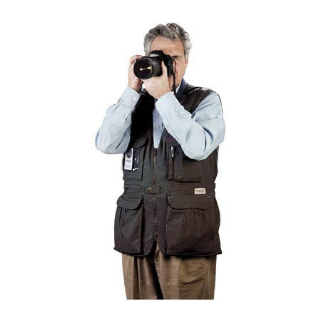 Tiffen PhoTOGS Photography Vest: Small Black