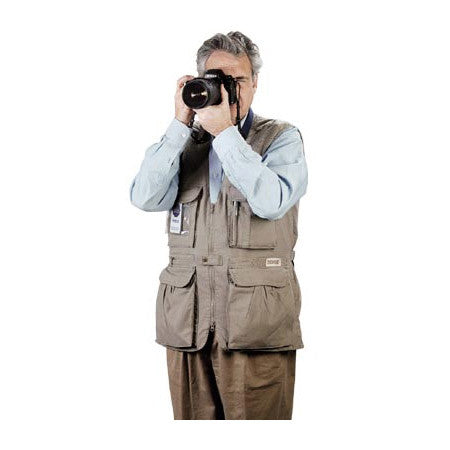 Tiffen PhoTOGS Photography Vest: XX-Large Khaki