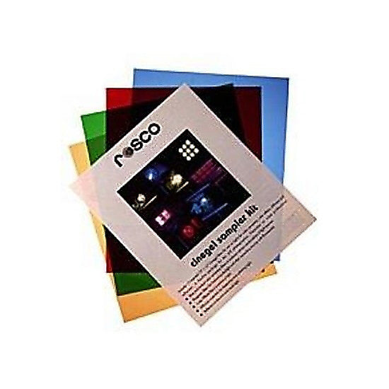 Rosco Cinegel 20in x 24in Sampler Kit