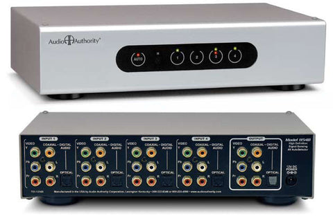 Audio Authority 1154B HDTV Component Video/Audio Source Selector