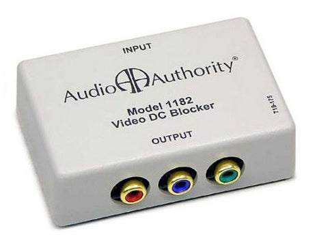 A high quality Image of Audio Authority 1182 Passive Video DC Blocker