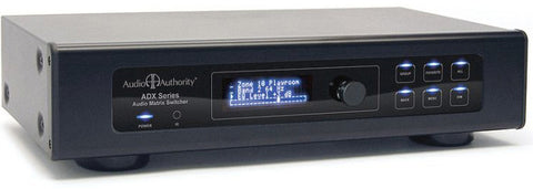 A high quality Image of Audio Authority ADX-1616 16x16 Multi-Zone Audio Matrix Switcher w/ DSP