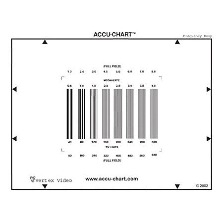 Vertex FRE Frequency Response Evaluation Accu-Chart