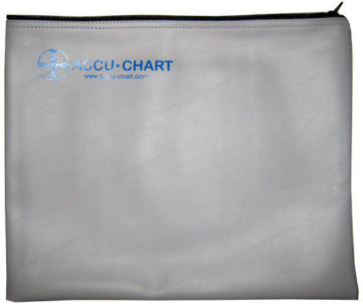 Vertex Accu-Chart ZVC Zippered Vinyl Case 12 x 15 Inch for 4:3 Charts