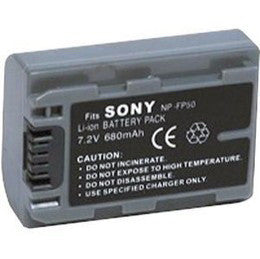 7.2V 680Mah Li-ion battery for Sony NP-FP50