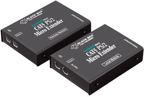 Black Box ACU1007A ServSwitch CAT5 PS/2 Keyboard & Mouse Extender Kit