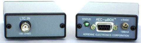 A high quality Image of Adrienne Electronics MicroBOX RS-422 Time Code Inserter